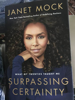 A picture of Janet Mock's book cover